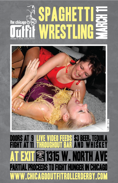 Spaghetti Wrestling 2011