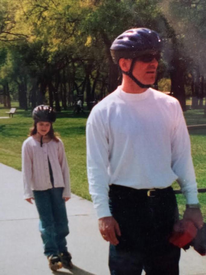 Dad skates