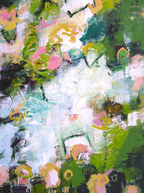 LOVE  30 x 40 inch canvas by Elizabeth Chapman