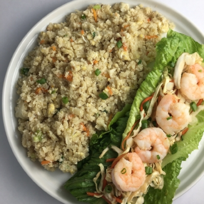 Shrimp Lettuce Wraps and Fried Cauliflower Rice.docx.jpg