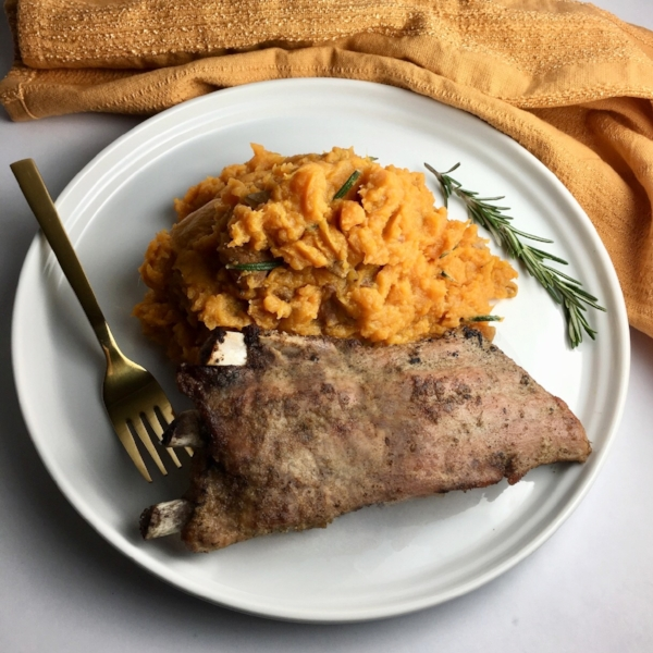 Instant Pot Spare Ribs with Savory Mashed Sweet Potatoes.jpg