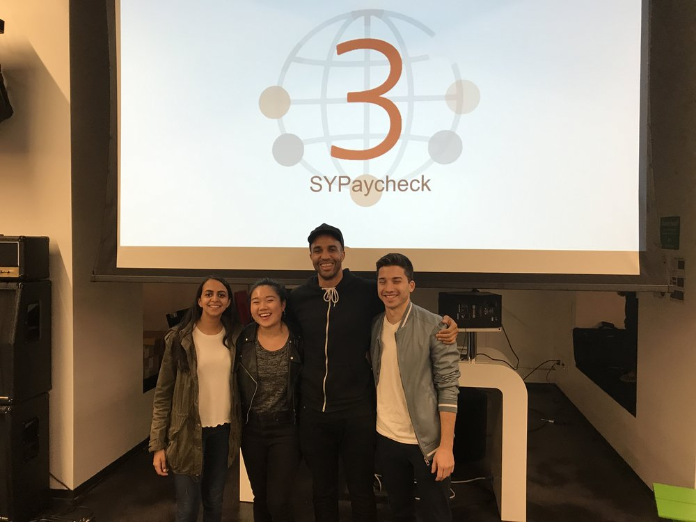 SYPartners  took 3rd place with Gather for Good