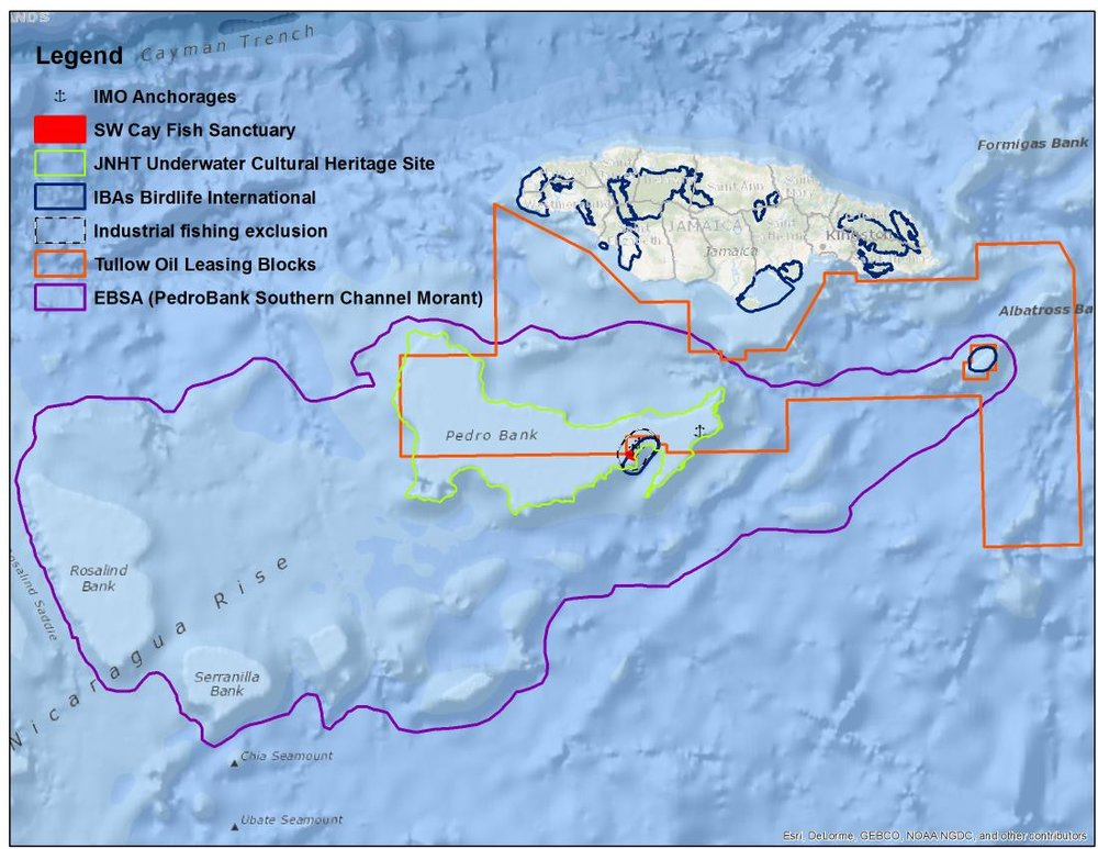 Existing Marine Management Areas of Jamaica
