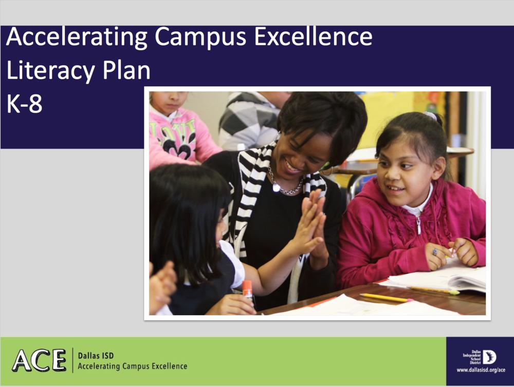 Elementary Literacy Plan