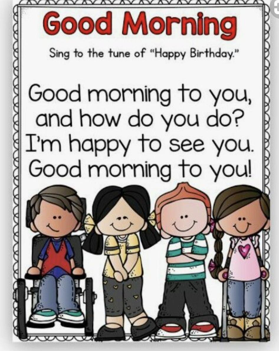 Morning Greeting Song -