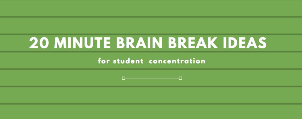 20-Minute-Brain-Breaks