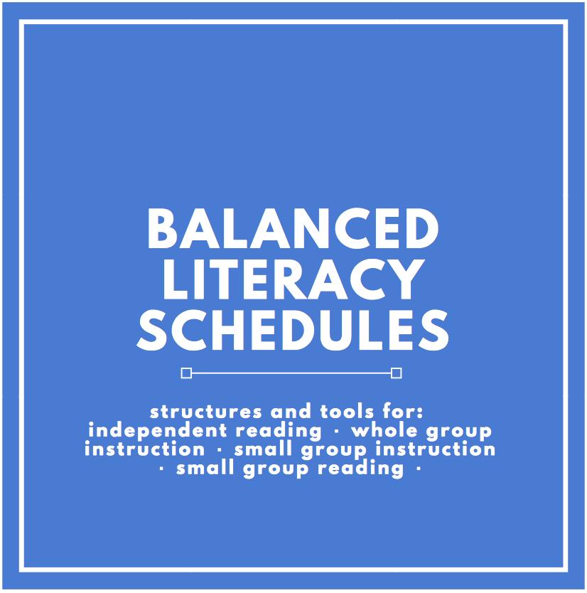 Balanced-literacy-schedules