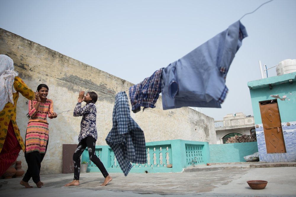 Bharti, 15, jumped with joy when she received the news of her school's impending upgrade.
