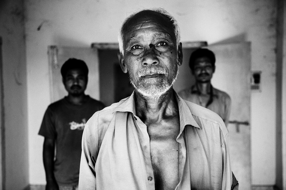 Barendra Brahma, a 70-year-old Bodo, fearing reprisals from the Muslims that surrounded his relief camp, fled to a nurse training center on the outskirts of Kokrajhar town.