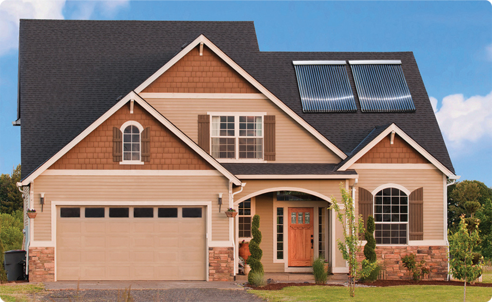 A High efficiency SOLAR PANEL MEANS IT ONLY TAKES UP A SMALL AMOUNT OF SPACE ON YOUR ROOF.