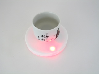 Aniomagic's Smart Coaster Project (image via  Aniomagic.com )