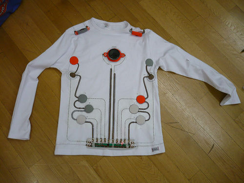 Wearable Toy Piano (image via Instructables)