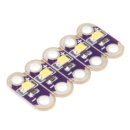 Powering LilyPad LED Projects - How to calculate how many LEDs your project can power.