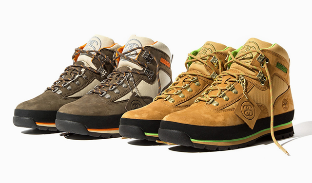 - Stussy X Timberland Euro HikerRole: SMU DesignerCreated custom colorway of the Timberland Euro Hiker for Stussy. Selected materials and fabrics based on customer requests. Approved product samples with development team.Release date: Fall/Winter 2014