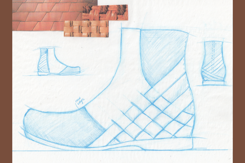 Woven Leather Upper Concept