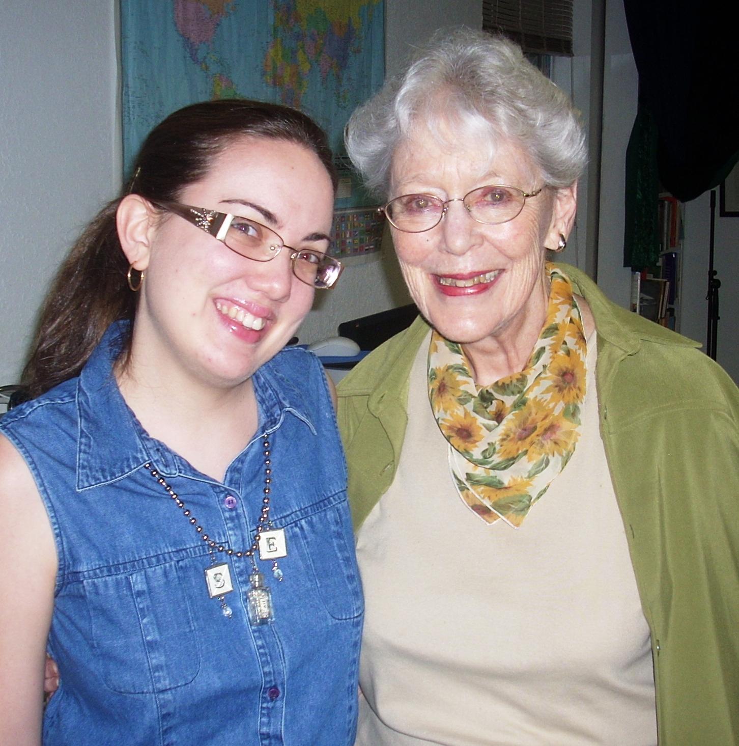 Sarah Elisabeth with Elizabeth Sherrill
