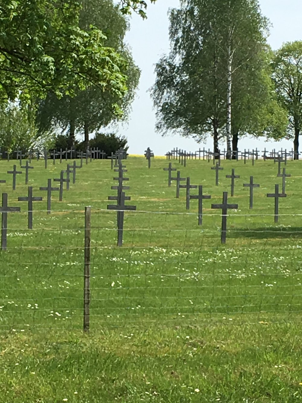 German cemetery, Saint-Étienne-à-Arnes, France