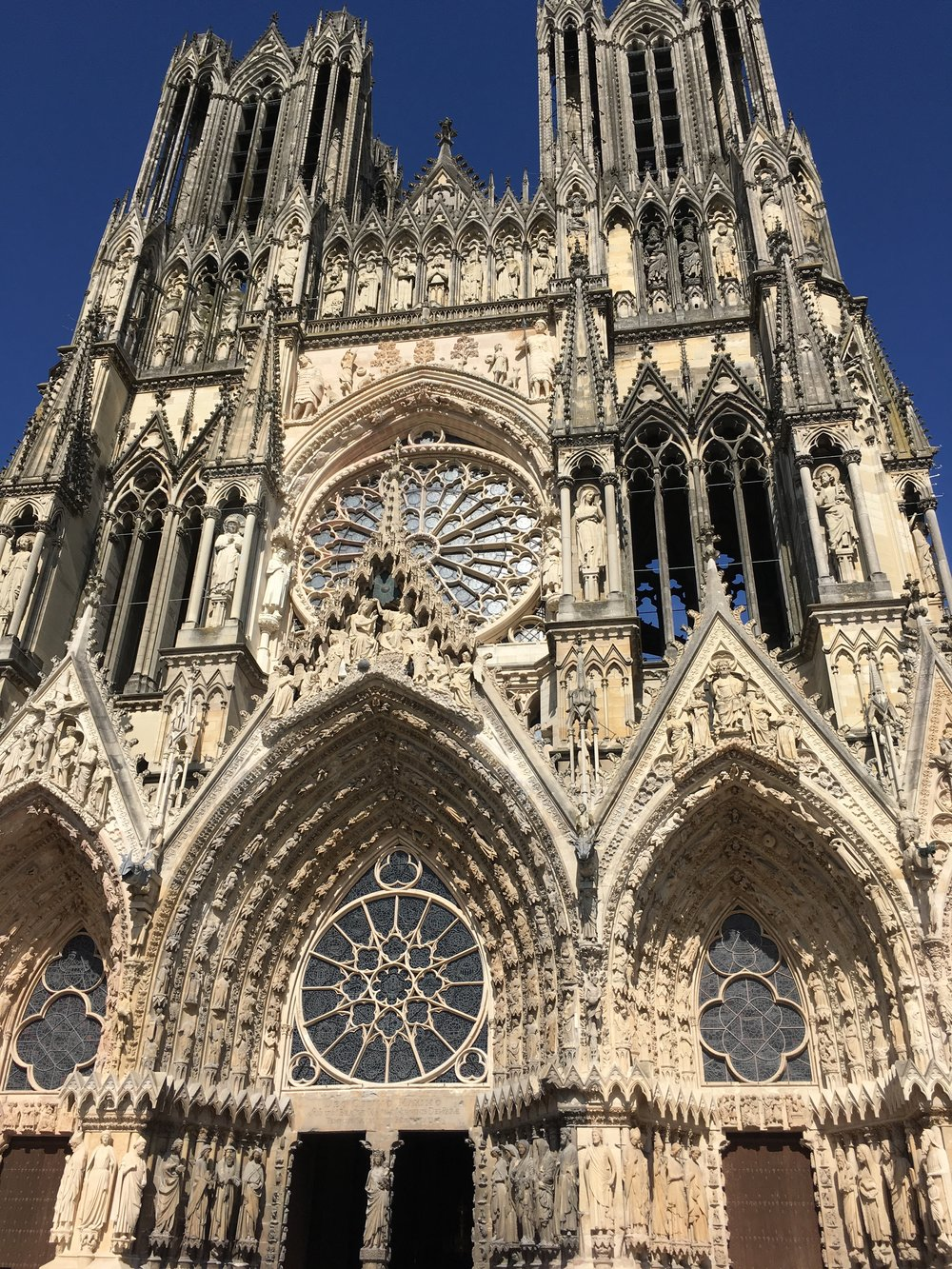 Reims Cathedral (Our Lady of Reims, French: Notre-Dame de Reims)