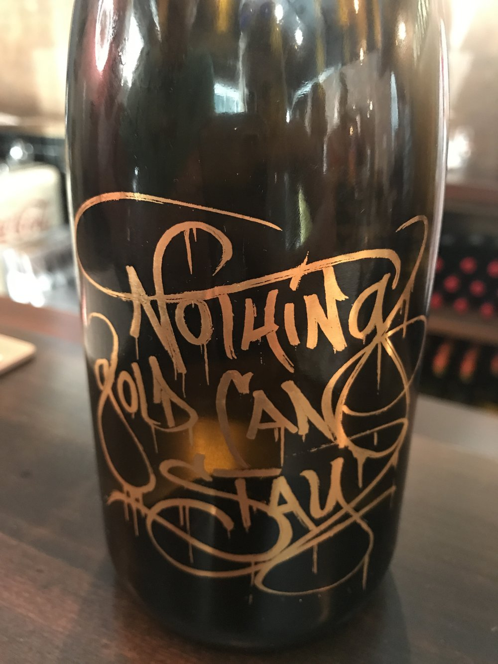 Nothing Gold Can Stay at Tank Garage Winery