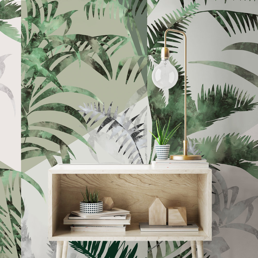 - Jungle Wallcovering, Dawn Colourway