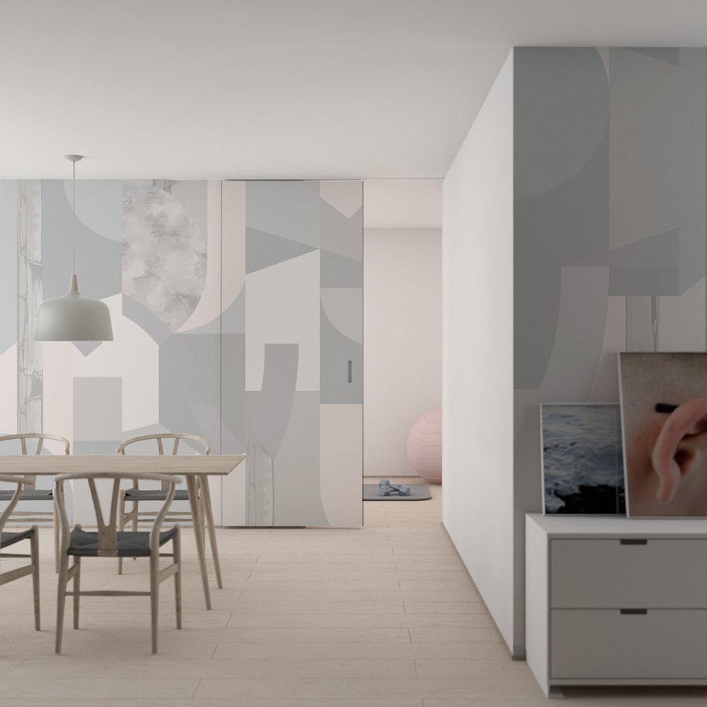 - Balance Wallcovering | Dusk Colourway