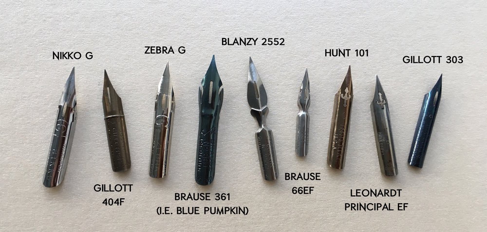 A Beginners Guide To Pointed Pen Calligraphy