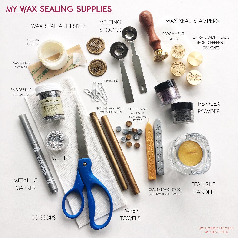 Wax Seals Faq Jw Lettering
