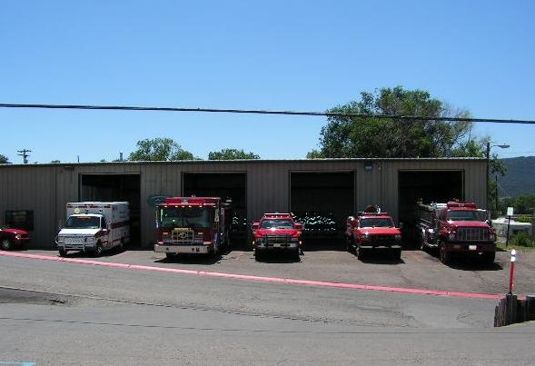 Fire Department, Ruidoso Downs, NM.