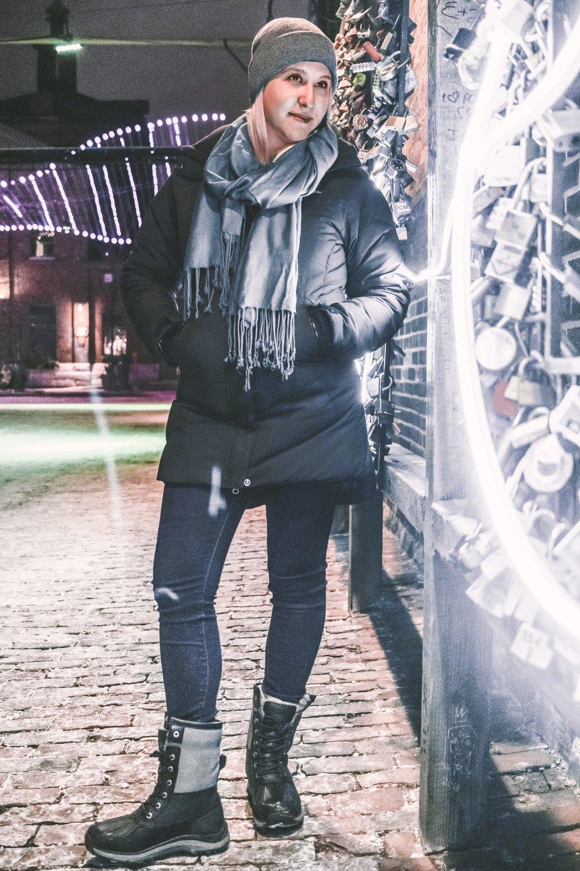 x  hat   ⠀  x  coat   ⠀  x  scarf   ⠀  x  boots