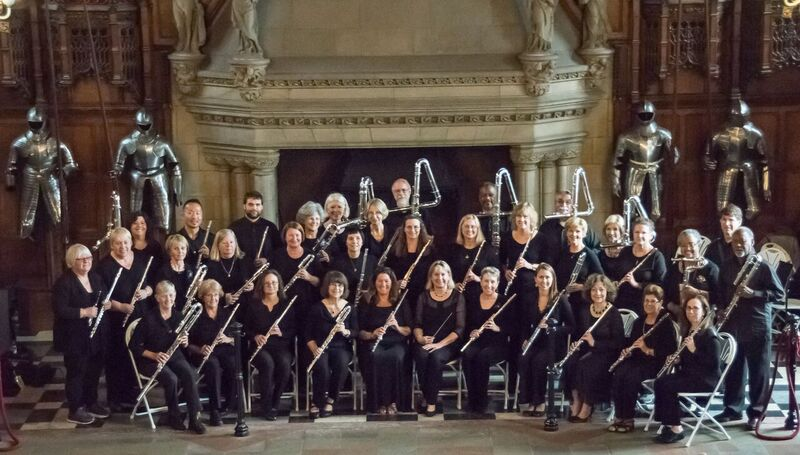 Metropolitan Flute Orchestra in the Great Hall of Edinburgh Castle