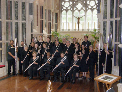 Metropolitan Flute Orchestra in concert at the Gothic Chapel of Kylemore Abbey
