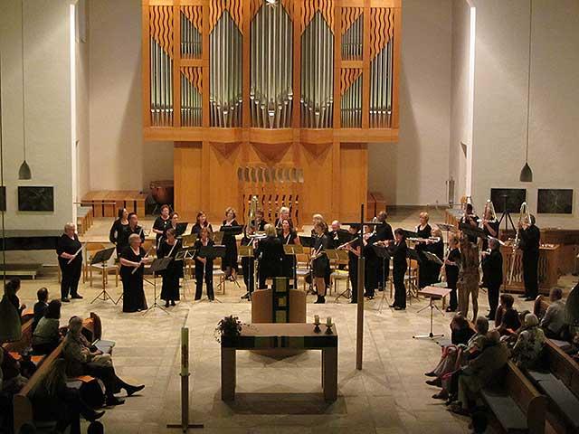 Metropolitan Flute Orchestra with the Munich Flute Orchestra in concert, Munich, Germany