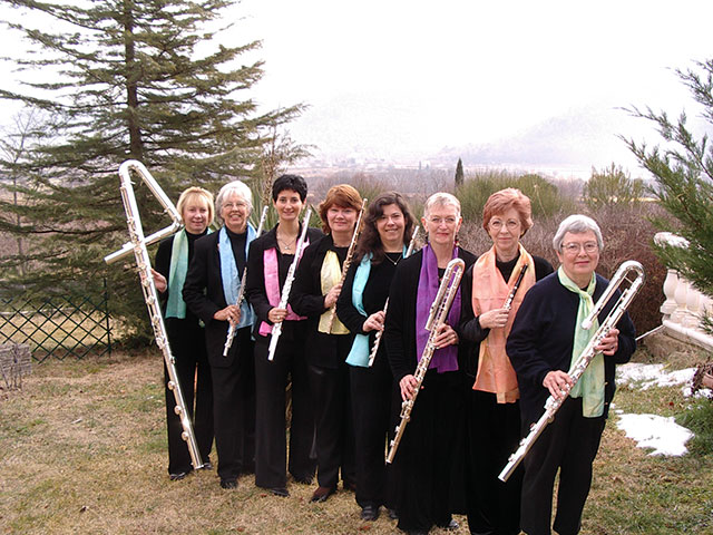 Florida Flute Orchestra in Provence, March 2005