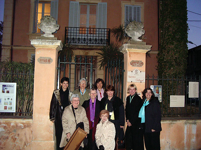 Florida Flute Orchestra in St. Tropez, March 2005
