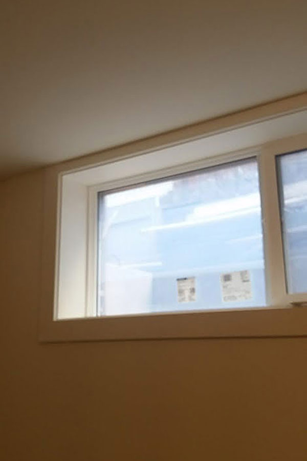 Egress Compliant Windows - Basement egress compliant windows can be cut into existing concrete basements or retrofitted if the existing opening is big enough. We can box these windows in with maintenance free materials.