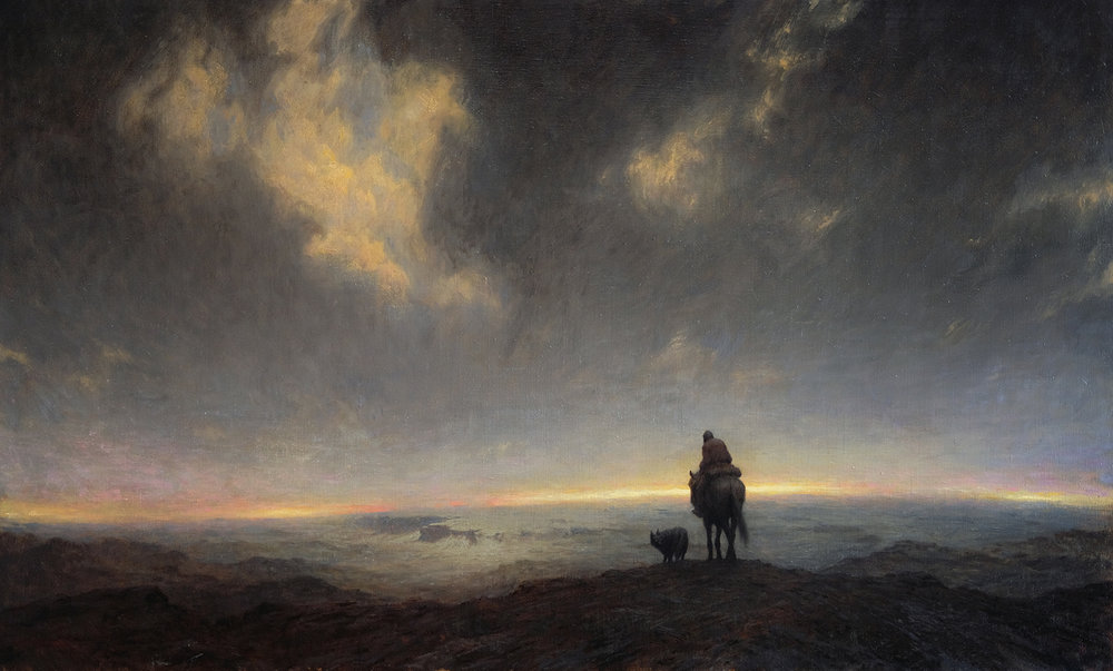 Oil on canvas, 145 x 88 cm. Available.