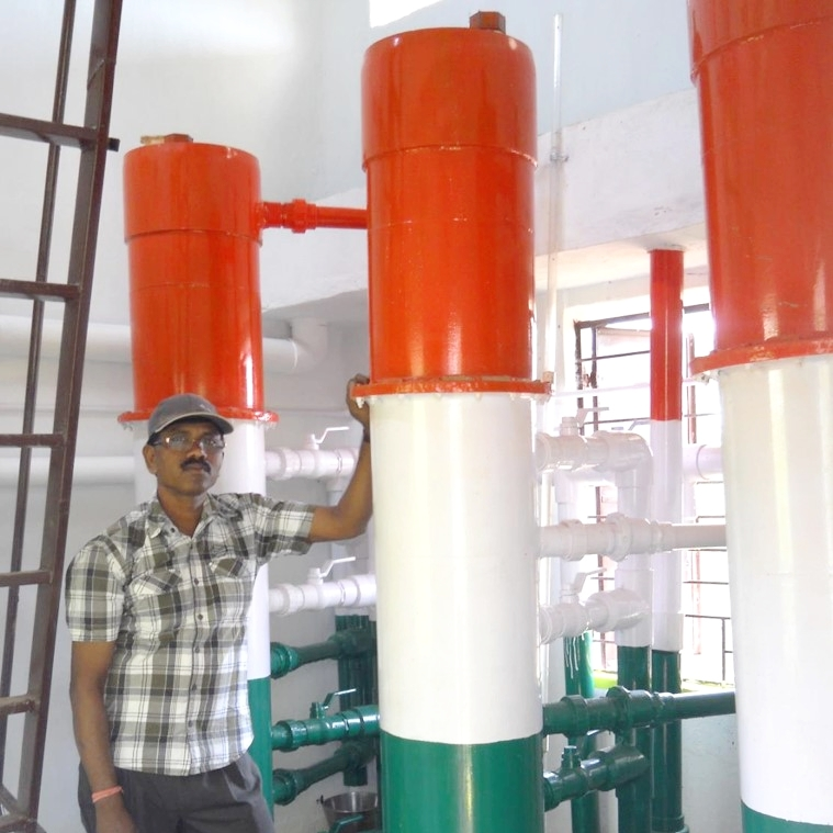 EStaRS Filters installed in the Gufu Village of Jharkhand, India.
