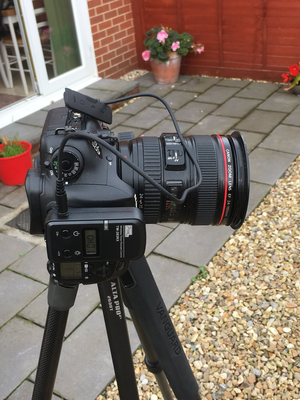 My gear, Canon EOS 7D Mk 2, Canon EF 24-105 f4 L series lens, Vanguard Alta Pro carbon fibre tripod and a cheap, but does the job fine, wireless remote, my go to set up for most of my photography  .
