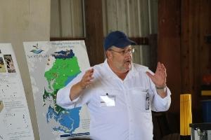 Alex Echols explains the latest farming technologies and conservation efforts.
