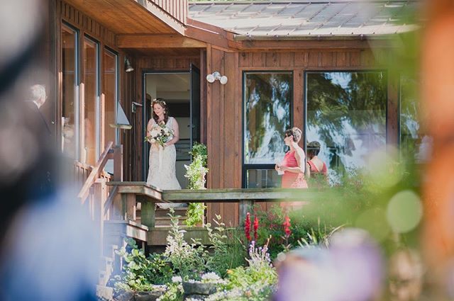Aisling got #married at her #childhood #home in #porttownsend WA. It was one of the most beautiful #weddings I've ever worked. She was a radiant #bride!  #smallbiz #womenowned #queer #weddingprep #family