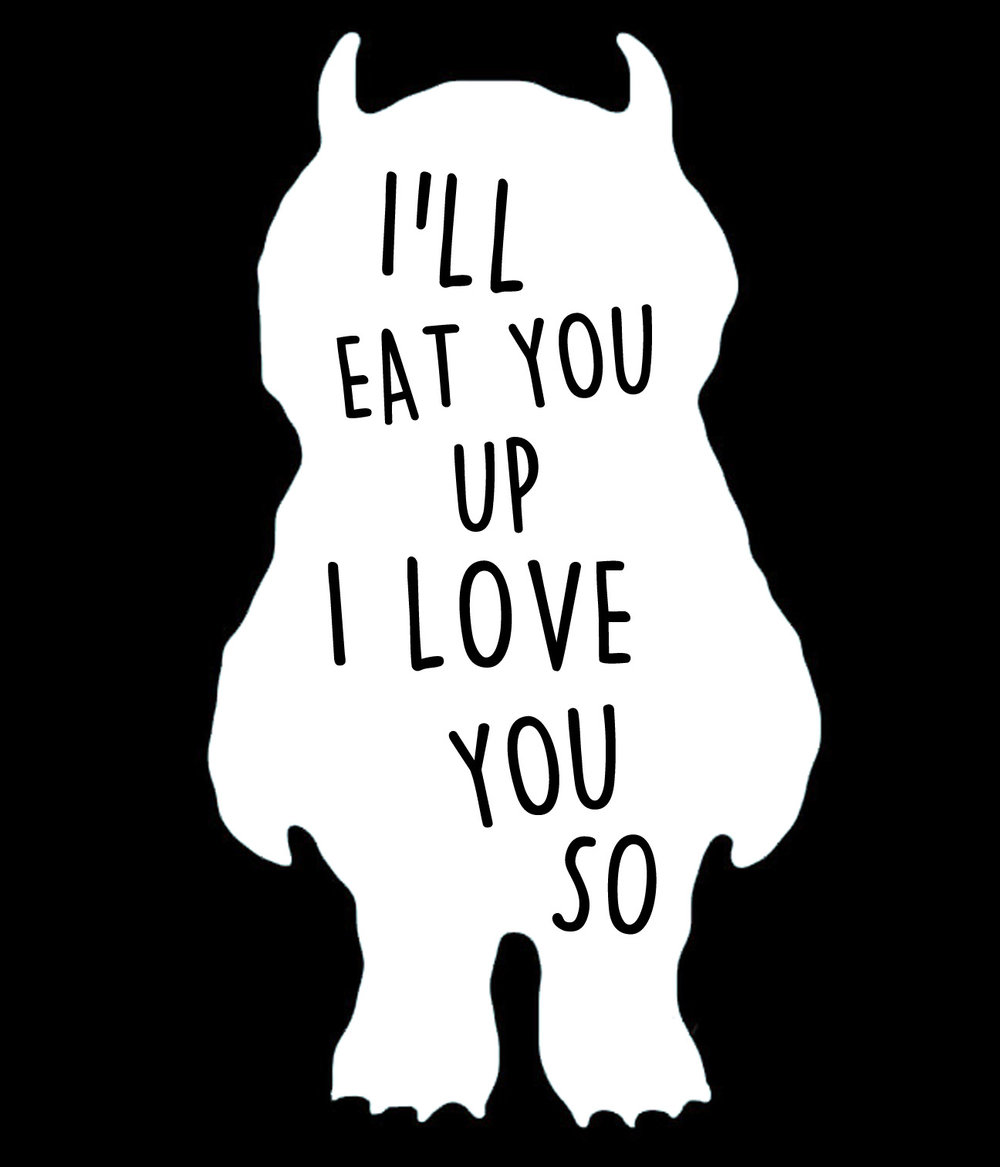 Children // Ill Eat You Up // 18x21 // $65