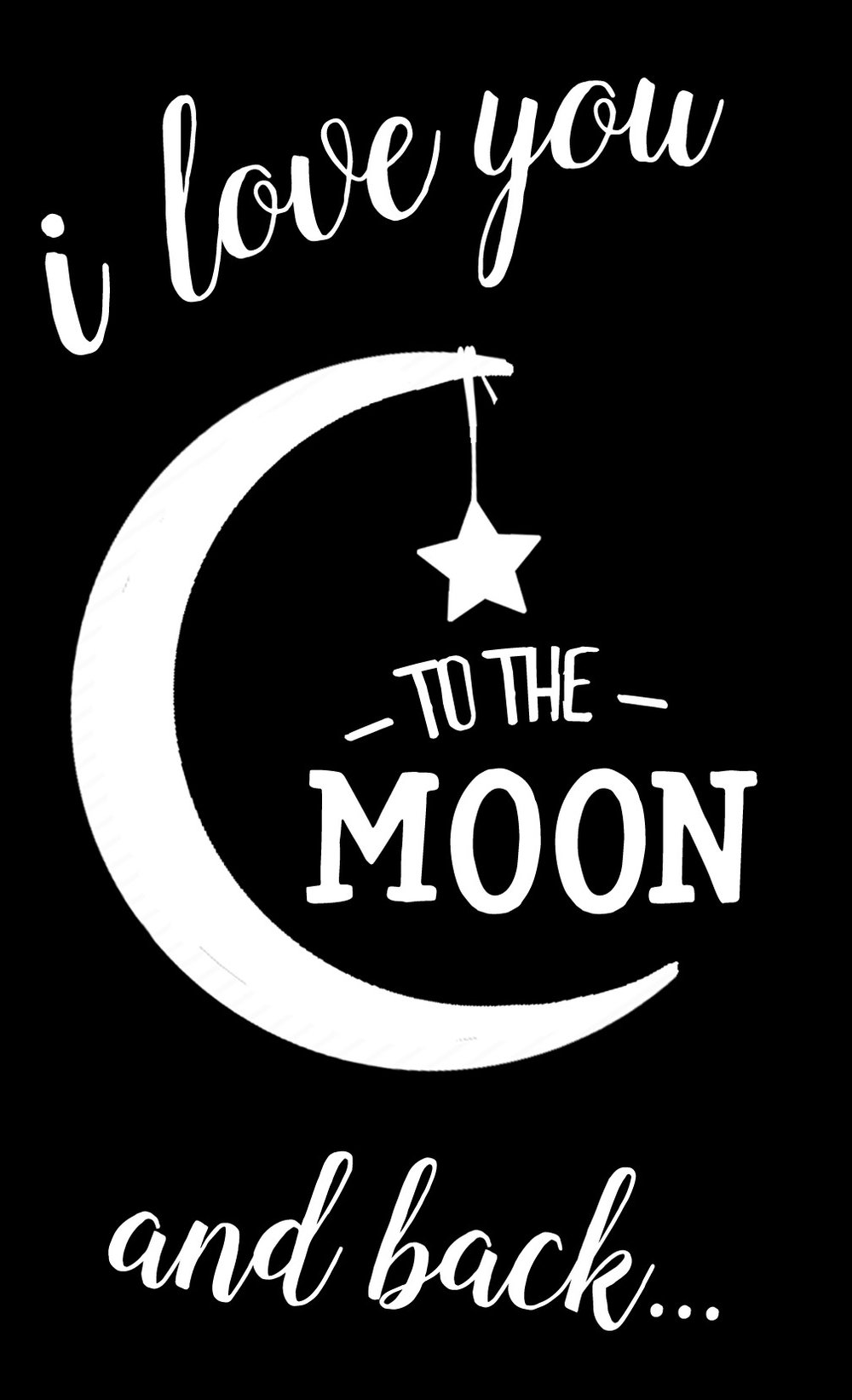 Children // I Love You to the Moon // 14x23 // $65