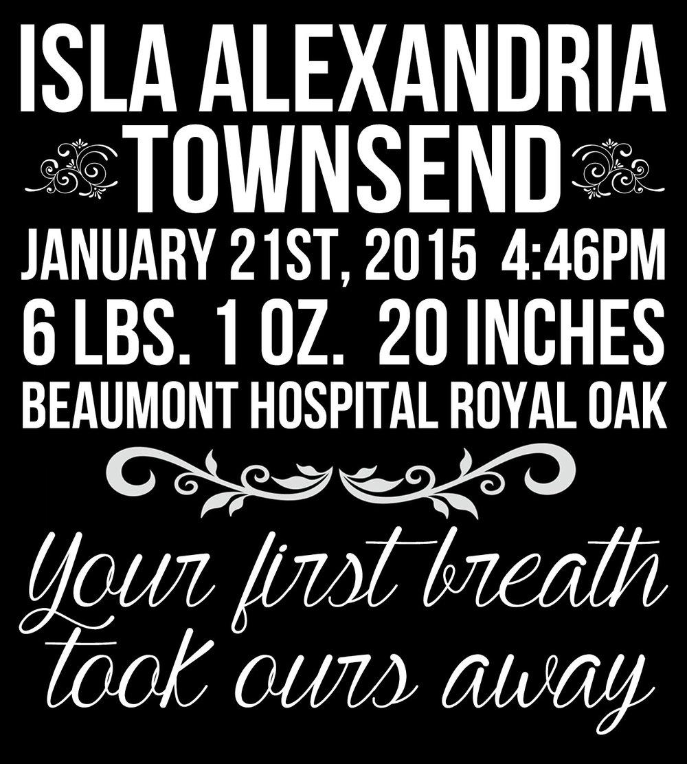 Children // Isla Alexandria 18x21 // $65