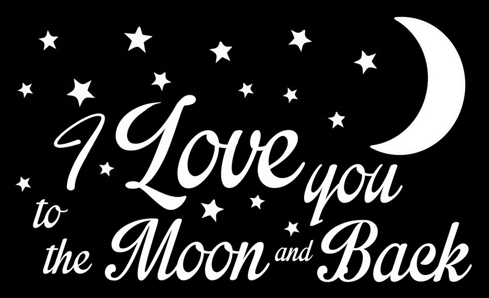 Children // Moon and Back // 14x23 // $65