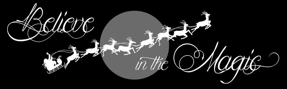 Christmas // Believe in the Magic // 12x36 // $75