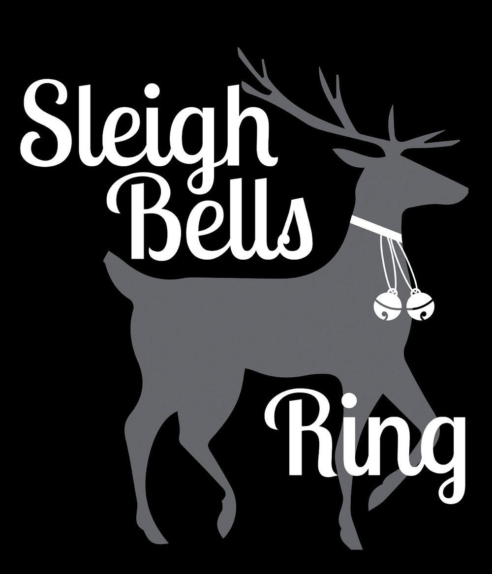 Christmas // Sleigh Bells Ring // 18x21 // $75