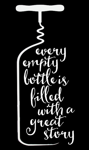 Copy of Culinary // Every Empty Bottle // 14x23 // $65