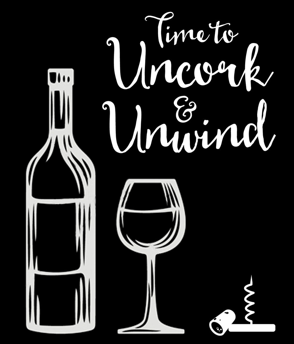 Copy of Culinary // Uncork and Unwind // 18x21 // $65
