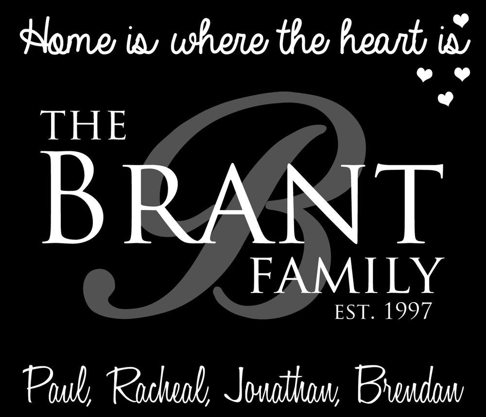 Family // Brant Family // 18x21 // $75