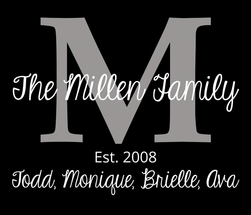 Family // The Millen Family // 18x21 // $75